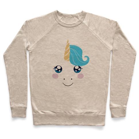Unicorn Face Pullover