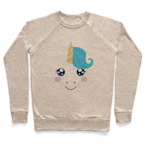 Unicorn Face Pullover
