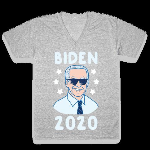 Biden 2020 V-Neck Tee Shirt