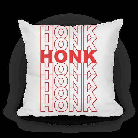 Honk Honk Honk Pillow