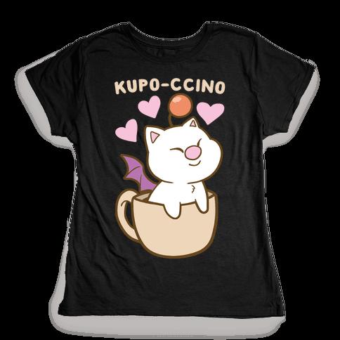 Kupo-ccino - Moogle Womens T-Shirt