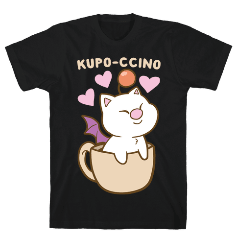 Kupo-ccino - Moogle Mens/Unisex T-Shirt