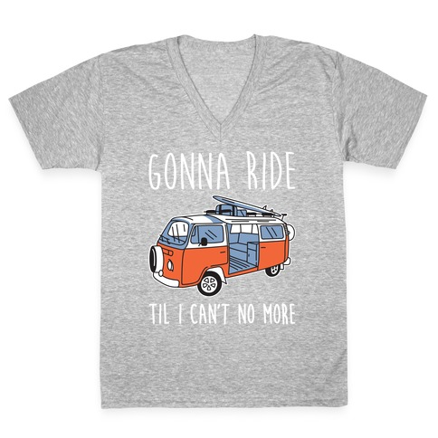 Old Town Road Trip V-Neck Tee Shirt