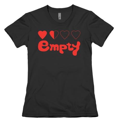 Empty Womens T-Shirt