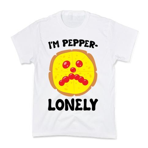 I'm Pepper-Lonely Kids T-Shirt