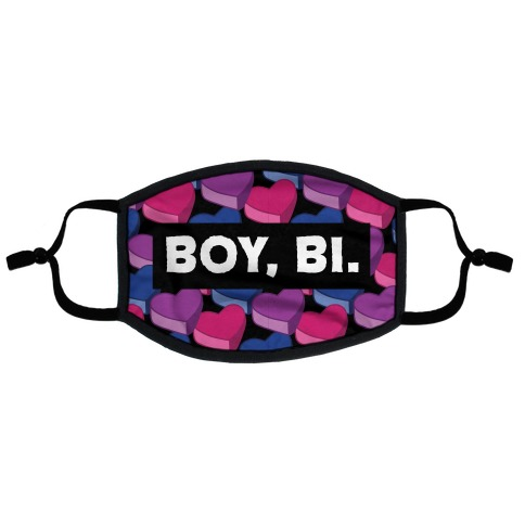 Boy, Bi. Flat Face Mask