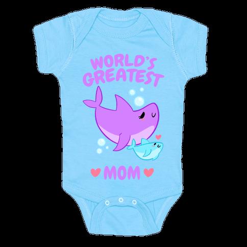 World's Greatest Mom Baby One-Piece