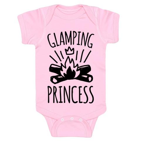 Glamping Princess Baby Onesy