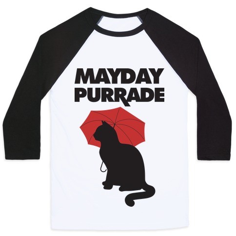 Mayday Purrade Baseball Tee