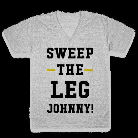 Sweep The Leg Johnny V-Neck Tee Shirt