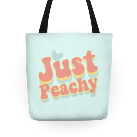 Just Peachy Tote