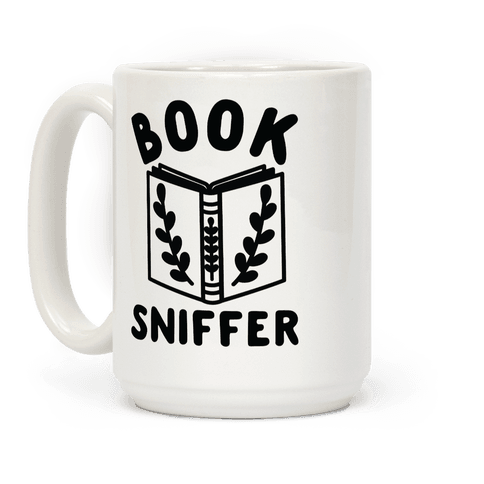 Book Sniffer Coffee Mug