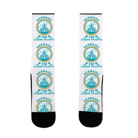 Mermaids For Lesbian Atlantis Sock