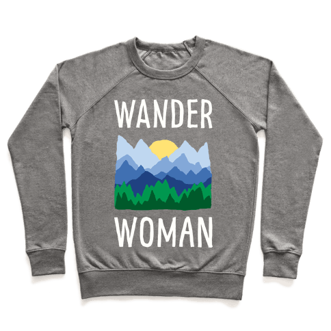 Wander Woman Pullover