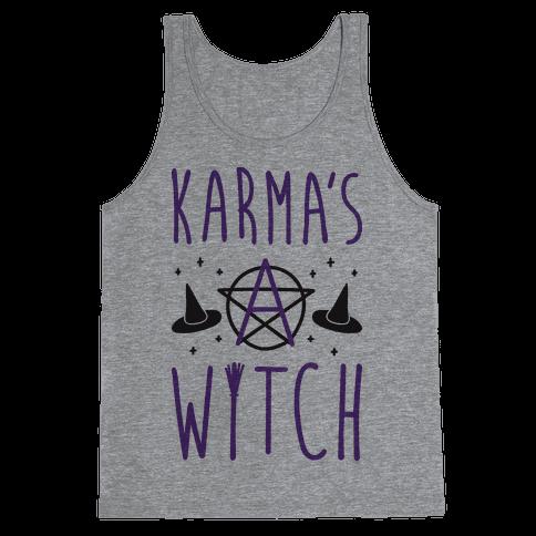 Karma's A Witch Tank Top