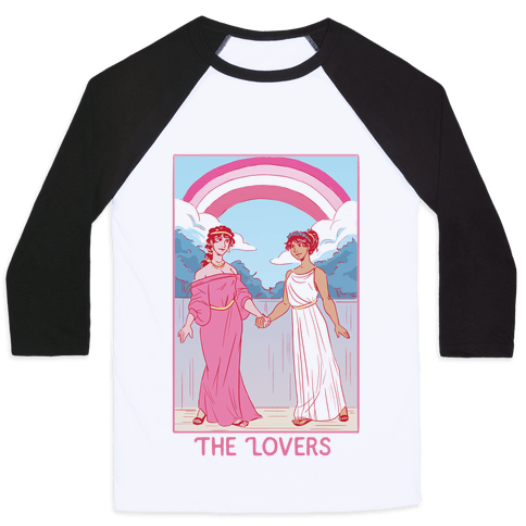 The Lovers - Sappho Baseball Tee