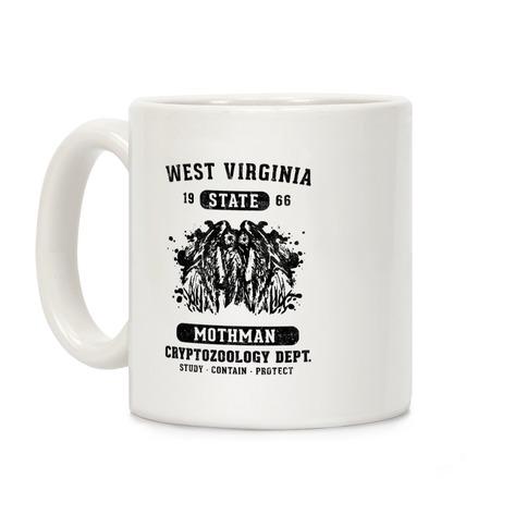 West Virginia Mothman Cryptozoology Coffee Mug