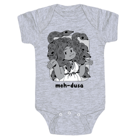 MEH-dusa Baby One-Piece