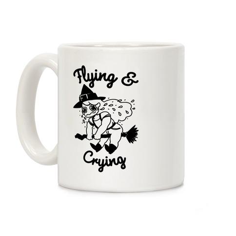 Flying & Crying Coffee Mug