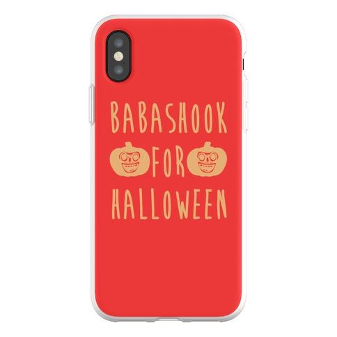 Babashook For Halloween Parody Phone Flexi-Case