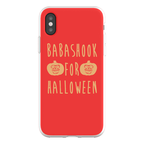 Babashook For Halloween Parody Phone Flexi-Case
