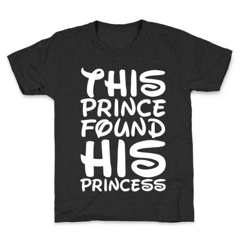 This Prince Found His Princess Kids T-Shirt