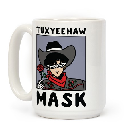 Tuxyeehaw Mask Coffee Mug