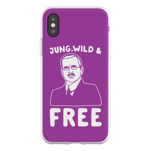 Jung Wild & Free Parody Phone Flexi-Case