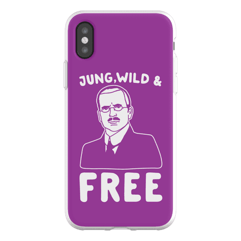 Jung Wild & Free Parody Phone Flexi-Case