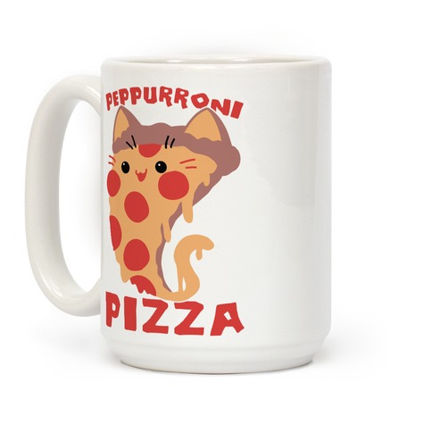 PepPURRoni Pizza Coffee Mug