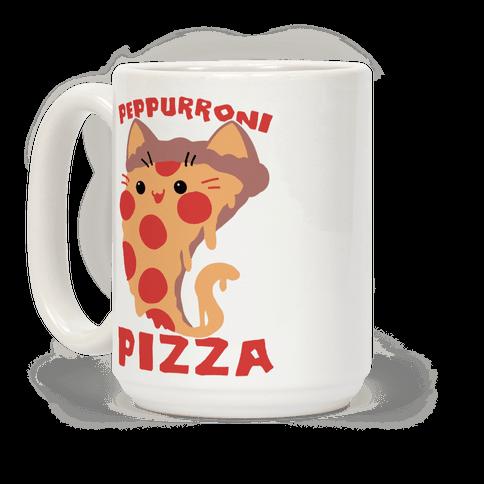 PepPURRoni Pizza Coffee Mug