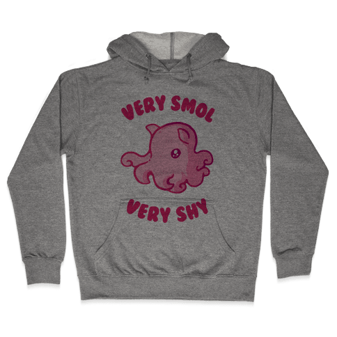 Very Smol Very Shy Dumbo Octopus Hooded Sweatshirt