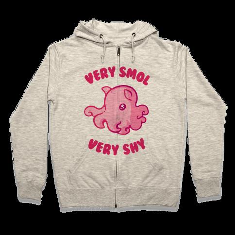 Very Smol Very Shy Dumbo Octopus Zip Hoodie