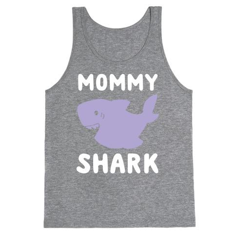 Mommy Shark (1 of 5 set) Tank Top