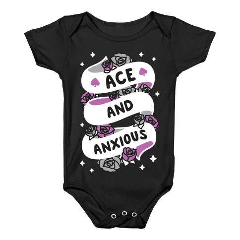 Ace And Anxious Baby Onesy