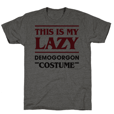 This Is My Lazy Demogorgon Costume Mens T-Shirt