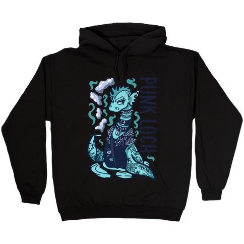 Punk Loch Hooded Sweatshirt
