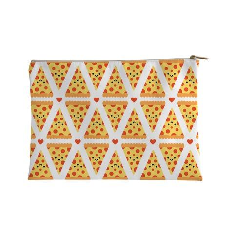 Cute Pizza Pattern Accessory Bag