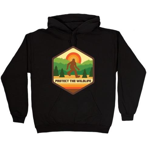 Protect The Wildlife (Bigfoot) Hooded Sweatshirt