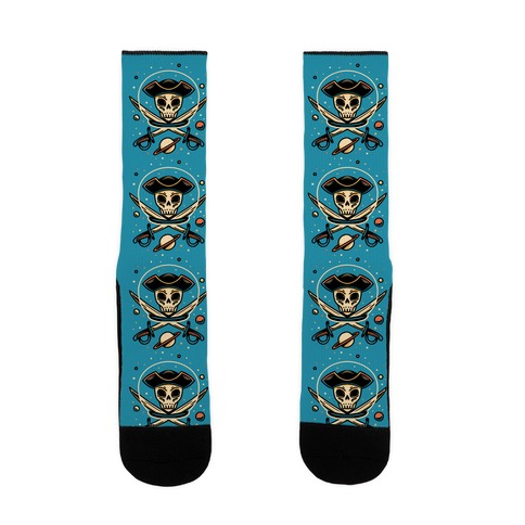 Space Pirate Sock