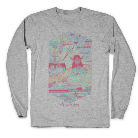 Elf Care Day Long Sleeve T-Shirt