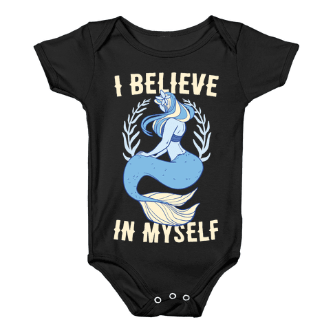I Believe In Myself - Mermaid Baby Onesy