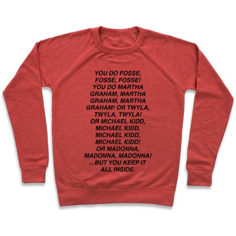 You Do Fosse Fosse Fosse Pullover