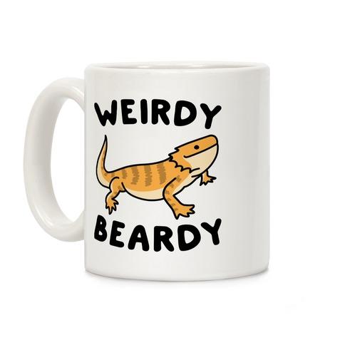 Weirdy Beardy Bearded Dragon Coffee Mug