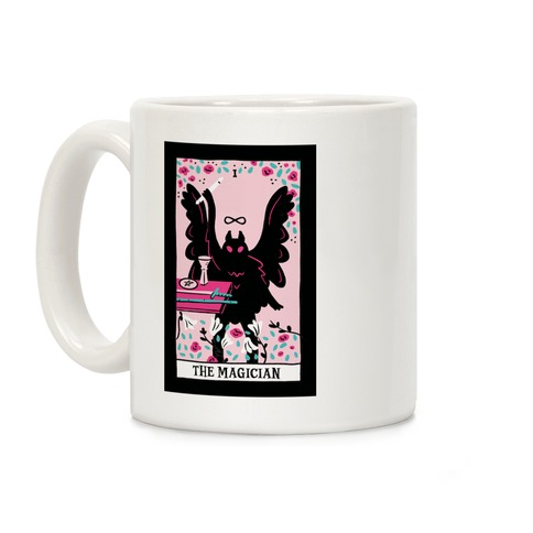 The Magician Mothman Tarot Coffee Mug