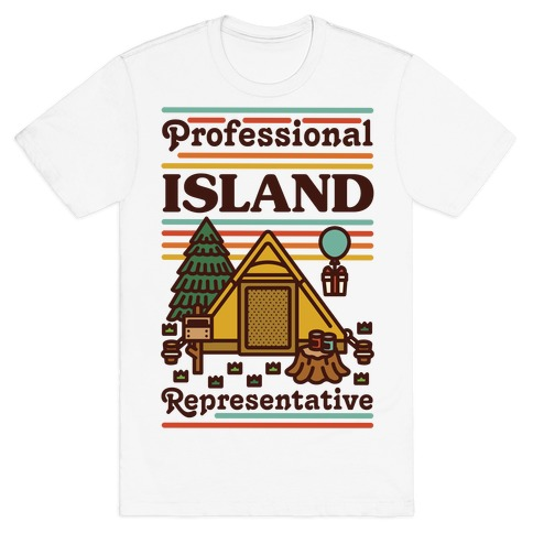 Professional Island Represenative T-Shirt
