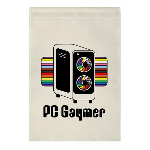 PC Gaymer Garden Flag