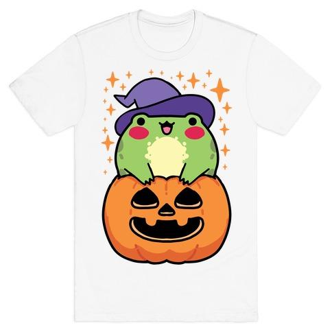 Cute Halloween Frog T-Shirt
