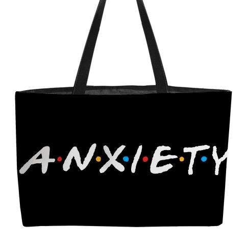 Anxiety Acquaintances Weekender Tote