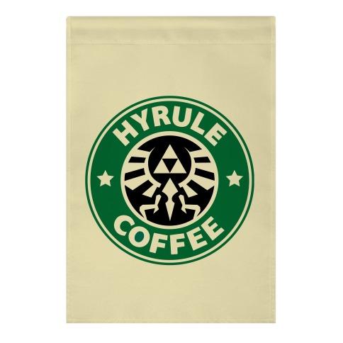 Hyrule Coffee Garden Flag